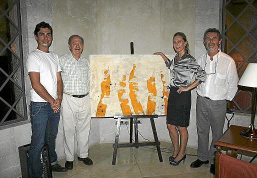 Martín Mas, Bernat Albertí, Birgit Vinger y Joan Costa.