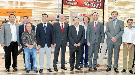 Tomeu Oliver, Jorge Miguel, Carlos García, Biel Company, Luis de la Serna, Fernando Martínez, Carlos Borrego, José Ramón Bauzá y Pedro Garau.