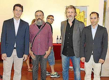 Fernando Gilet, Max, Tomeu Seguí y Amir Schakouri.