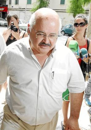 Cardona el día en que la Audiencia acordó su encarcelamiento, el 30 de julio.