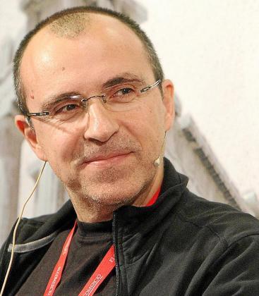 El madrileño Alfonso Alcántara, durante una participación reciente sobre trabajo y nuevas tecnologías.