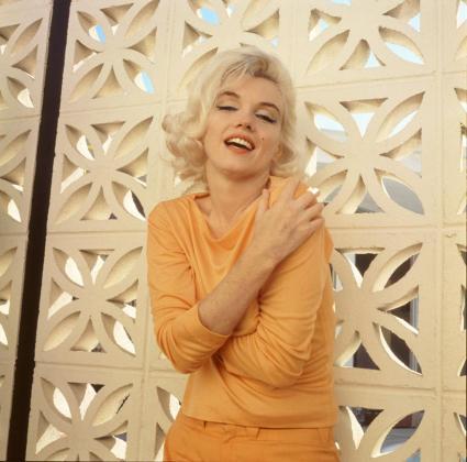 Marilyn, fotografiada en todo su esplendor.