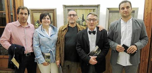 Martí Roca, Aina Aguiló, Andreu Aguiló, Josep Vives Campomar y Tomeu Cifre.