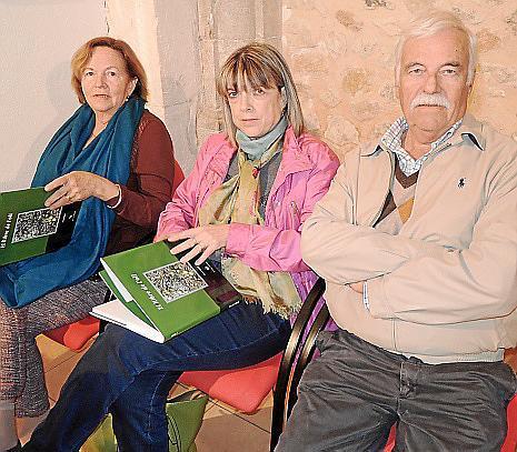 Catalina Rotger, Catalina Salvà y Pep Solivellas.