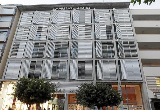 El robo en la sede del Grupo de Empresas Matutes, en la imagen, se produjo en la noche del 26 al 27 de octubre.