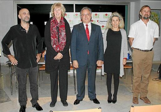 Riky López, Monika Abrines, Pep Lluís Vivdal, Magdalena Frau y Bubi Sansó