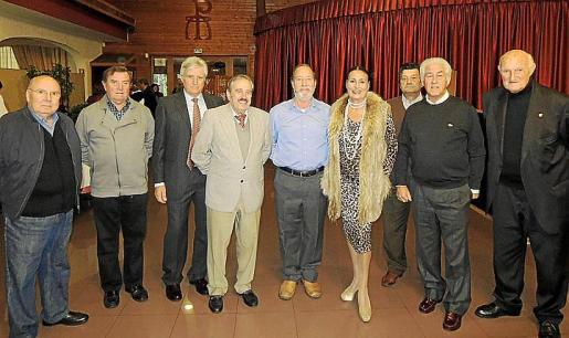 Antonio Rego, Juan Moyá, Gabriel Morlá, José Pérez, Julio Herrero, Maruja García Nicolau, Pedro Sánchez, Manuel Vidal Sánchez y Martín Mora.