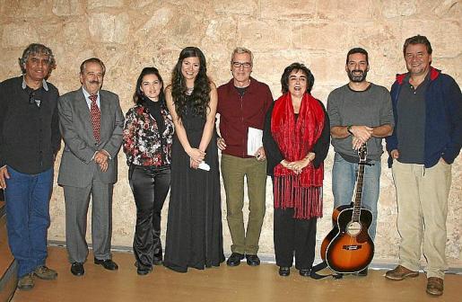 Juan Montes de Oca, José Pérez Beyte, Patricia Alemany, Vanessa Matson, Miquel Àngel Lladó, Maribel Morueco, Jaume Anglada y Koldo Royo.