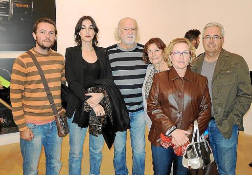 Jaume Mora, Arantxa Boyero, Paco Boyero, Encarna Lindón, Jaume Mora y Magdalena Vidal.