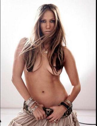 Las fotos de JLo desnuda fueron tomadas en 2005.