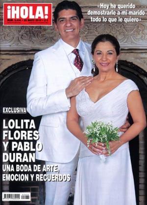 La cantante se casó en una emocionante ceremonia con su novio Pablo.