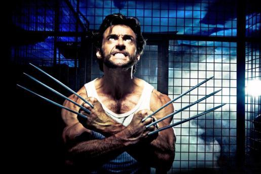 """El actor, Hugh Jackman, en la película """" X-Men Origens: Wolverine """"."""