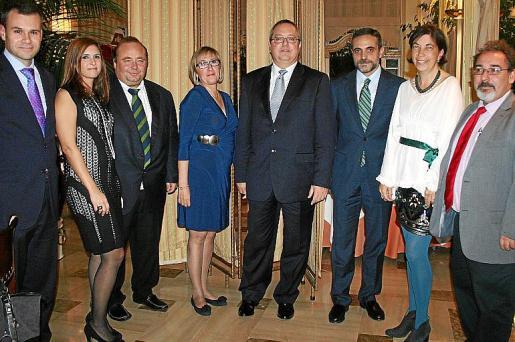 Javier Bonet, Nuria Oliver, Onofre Martorell, Chus Valls, Aniceto Fornaris, José Vicente Marí, Margalida Payeras y Frederic Ruiz.