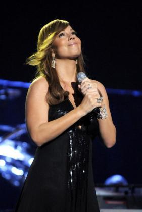 La cantante, Mariah Carey.