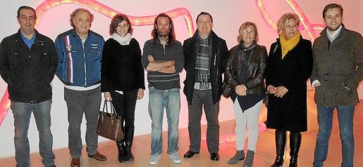 Antonio Aguilar, Andreu Gili, Rosa Tarragó, Jean Marc Serrano, Rafel Torres, Maria Payeras, Margalida Horrach y David Devis.
