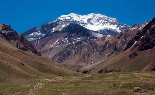Imagen del Aconcagua.