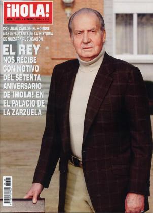 La revista ¡Hola! cumple 70 años con una portada dedicada al Rey.
