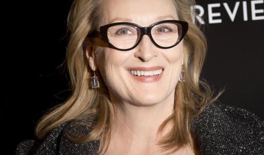 Meryl Streep, durante una entrega de premios en Nueva York.