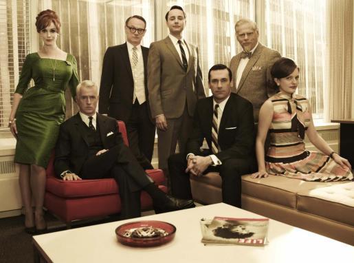 Imagen promocional de la serie 'Mad Men'.