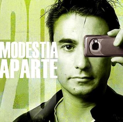 Fernando López, líder de Modestia Aparte, celebra con una gira el 25 aniversario del grupo.
