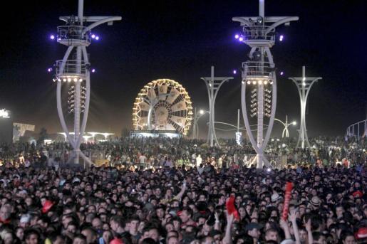 Imagen de uno de los conciertos del festival Rock in Rio en su edición de Madrid.