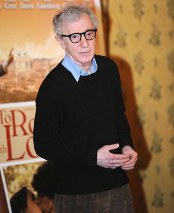 El director de cine estadounidense Woody Allen, durante la premiere mundial de la película 'A Roma con amor'.
