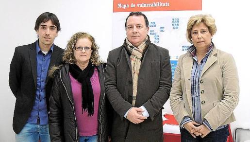 Oriol Lupiáñez, Àgueda Fiol, Rafel Torres y Margalida Horrach.
