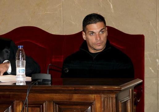 Paulo César Martins Baptista, en el banquillo de los acusados.