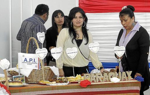 La Asociación de Paraguayos y sus productos.
