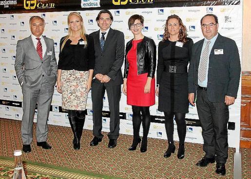 Cristóbal Rueda, Christine Sonstad, Luis Osuna, Carmen Molano, Laura Luis y Miguel Muñoz.
