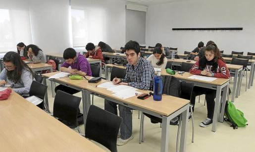 La prueba de Eivissa se celebró en la nueva sede pitiusa de la Universitat de les Illes Balears.