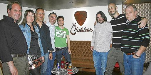 Damián Mulet, Maite Benito, Miquel Martínez, Joan Taura, Gabor Flandorfer, Álvaro Franco, Javier Isern y Bernd Berg.
