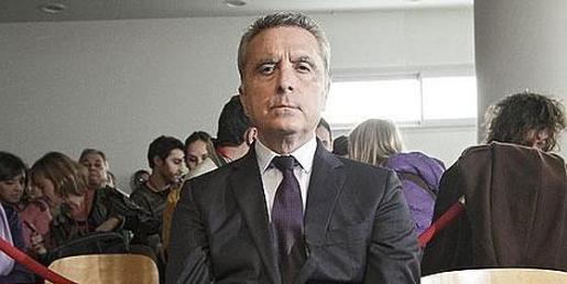 El ex torero José Ortega Cano, durante el juicio en el que fue condenado por la muerte de Carlos Parra.