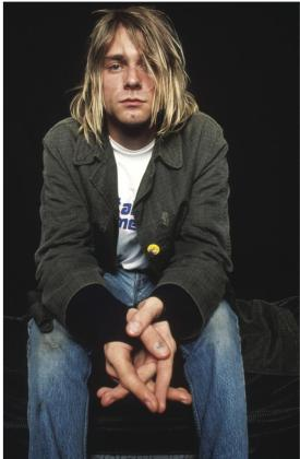 """Fotografía facilitada por Libros Cúpula incluida en el libro """"Kurt Cobain. La historia de Nirvana""""."""