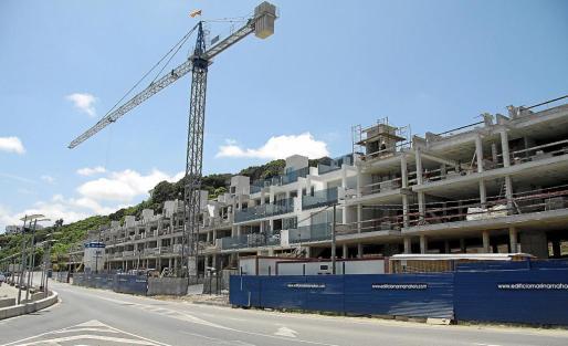 En el primer trimestre de este año se han visado 239 viviendas en Balears, frente a las 195 del mismo periodo del año pasado.
