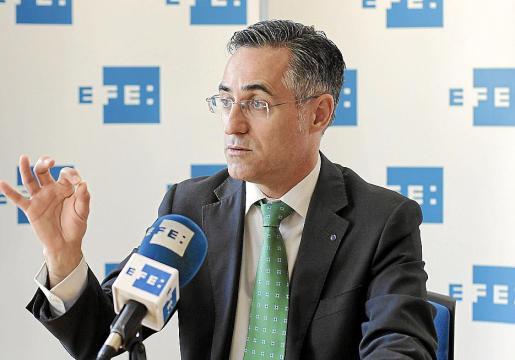 El candidato de CiU a las elecciones europeas de este 25 de mayo, Ramon Tremosa.