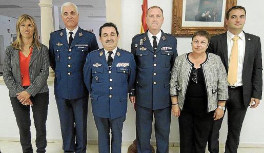 Teresa Palmer, Daniel Soriano, Manuel Mestre, Román Carlos Martínez, Coloma Terrassa y Tomeu Cifre.