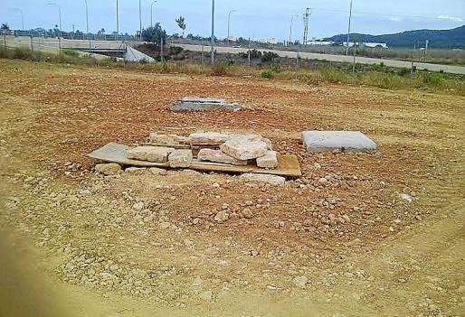 Lugar donde se ubicaba el pozo, la capilla y el lavadero del siglo VXIII.