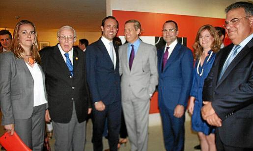 Maria Antònia Garau, Tummy Bestard, José Ramón Bauzá, James Costos, Michael Schmidt, Kimberley Marshall y Bartomeu Barceló.