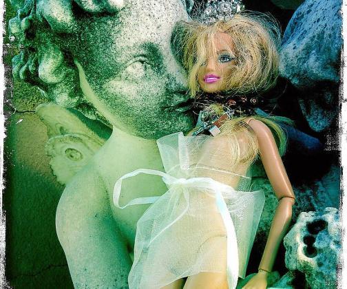 Una de las fotografías de la artista.