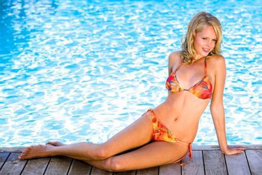 Uno de los bikinis con este revolucionario invento.