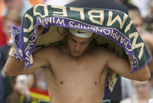 El tenista Rafael Nadal, el pasado año en Wimbledon.