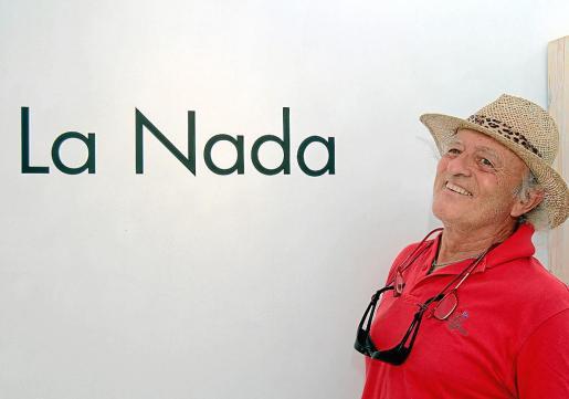 Juan Blanco expone 'La Nada' en la sala de Can Curt hasta el próximo 13 de julio.
