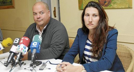 Nacho Rodrigo y Miriam Valladolid, los dos regidores del PREF, tienen complicado estar en el equipo de gobierno de Virginia Marí.
