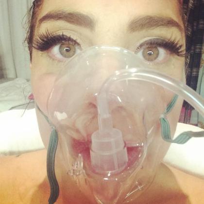 Fotografía que compartió la cantante en su cuenta personal de Instagram.