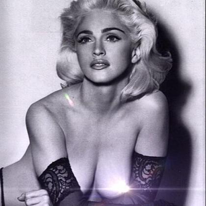 Madonna ha colgado esta fotografía en su cuenta de Twitter.