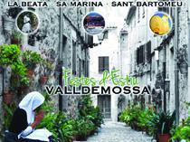 Cartel de las Festes de Sant Bartomeu en Valldemossa.