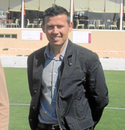 Víctor Lozano, concejal de Deportes del Ayuntamiento de Sant Josep.