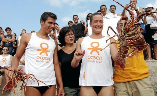 Mireia Belmonte participó por sorpresa en la pasada edición alzándose con el premio de la langosta a la vencedora en categoría femenina.
