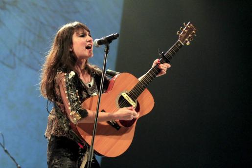 Foto de archivo tomada en un concierto de Amaral en Palma.